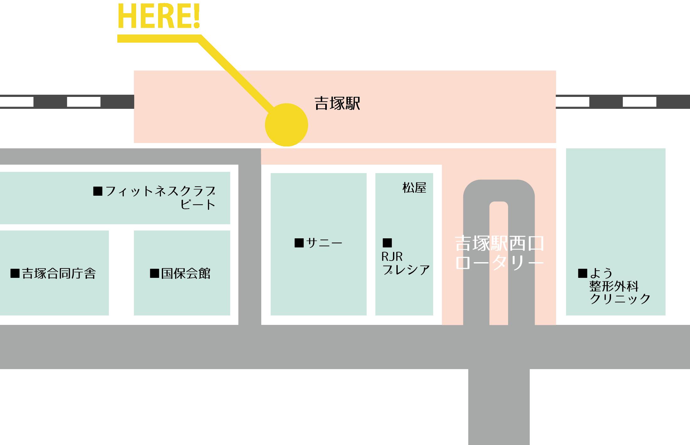 吉塚周辺マップ