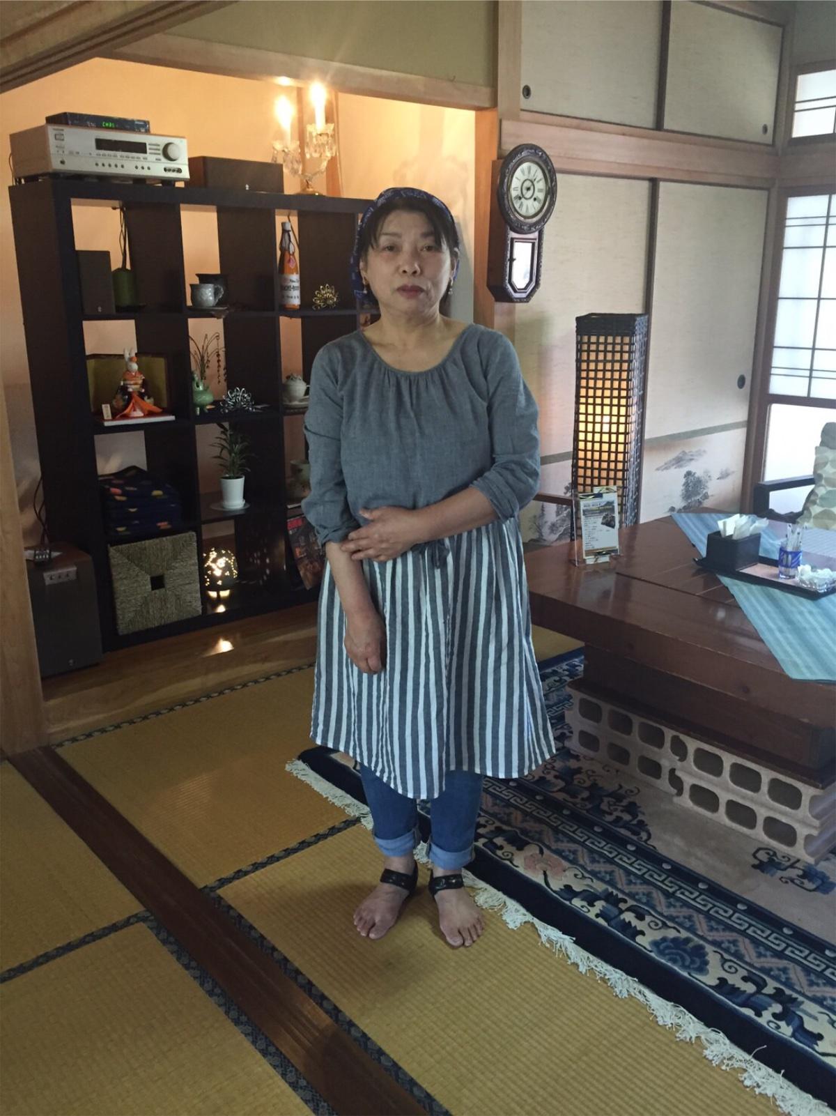 """足部アイテム""""スタビューティ""""使用感想(63歳 女性)"""