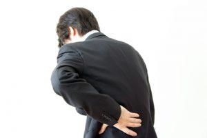 腰痛 イメージ図