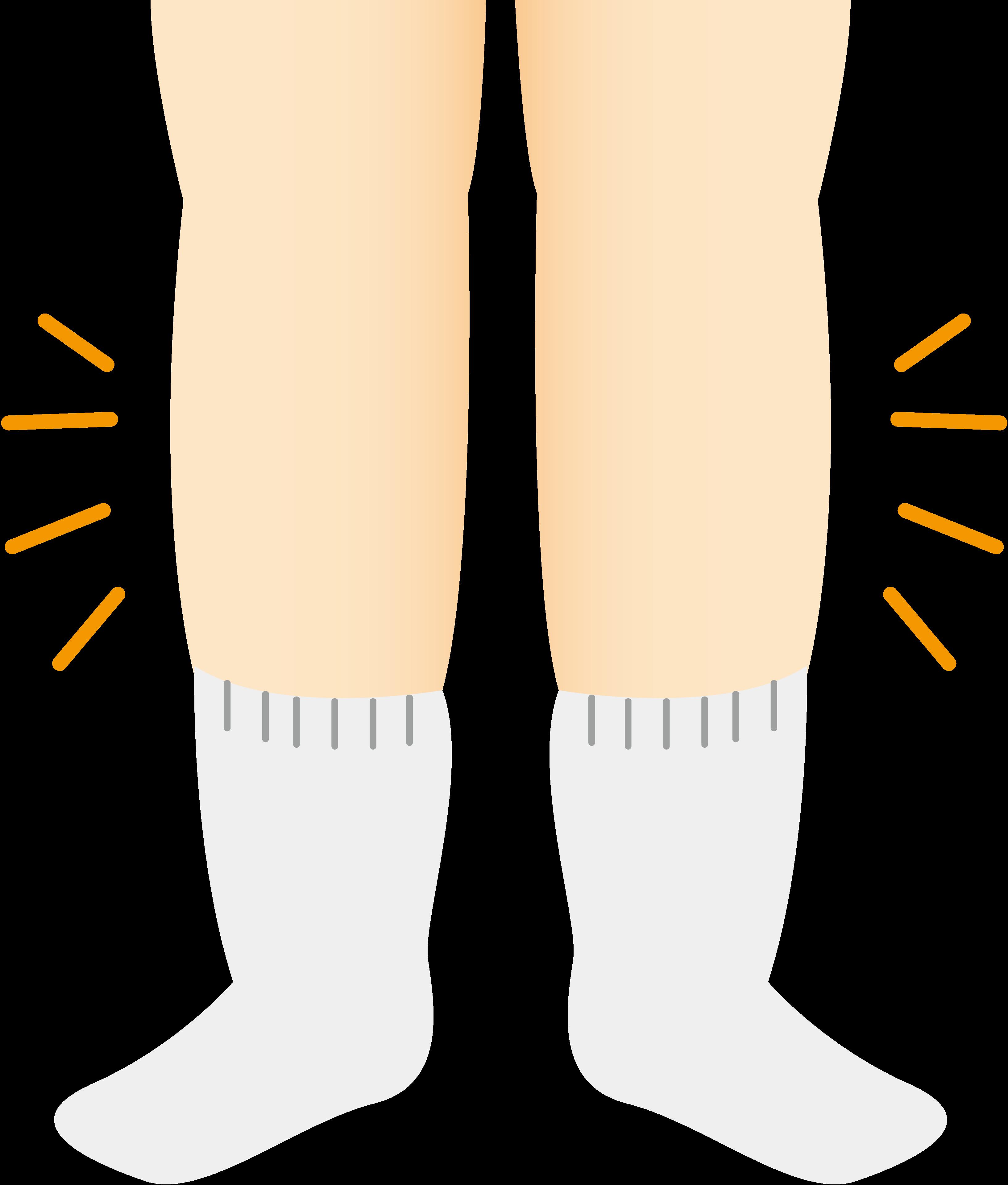 膝のうらが影響する足のむくみ~血流が滞りやすい膝うらの特徴とは!?~