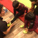 子どもと一緒に学べる足育講座 開催