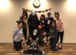 KIZUKI吉塚本店にてハロウィンナイトヨガが開催されました!🎃
