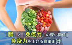 『腸』と『免疫力』の深い関係❕免疫力を上げる食事術🍽ーパート⑤ー